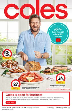 Coles catalogue ( 1 day ago )