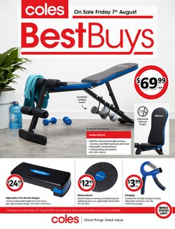 Coles catalogue ( 8 days left )