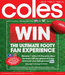 Coles catalogue ( 2 days left )