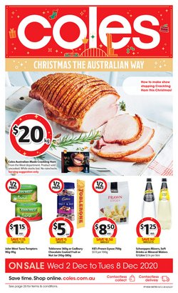 Coles catalogue ( 3 days left )