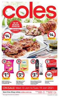 Coles catalogue ( Expired )