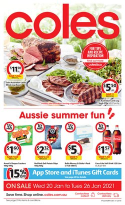 Coles catalogue ( Expires today )