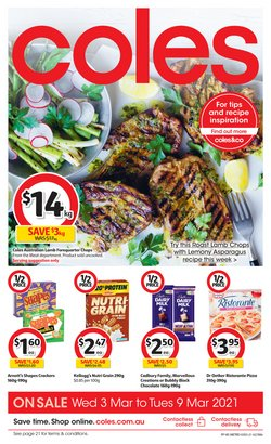 Coles catalogue ( 3 days ago )
