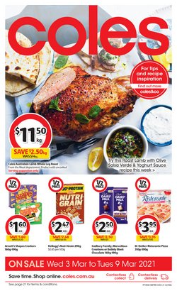 Coles catalogue ( 2 days ago )