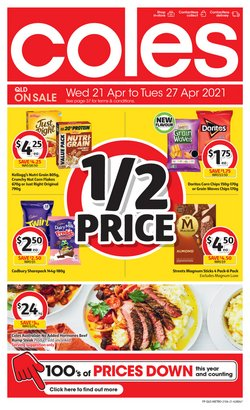 Coles catalogue ( 4 days left )