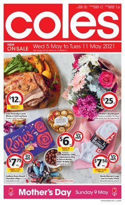 Mother's day specials in the Coles catalogue ( 1 day ago)