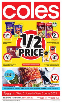 Coles specials in the Coles catalogue ( Expired)