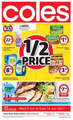 Coles specials in the Coles catalogue ( Expires today)
