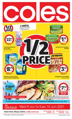 Coles catalogue ( Expires today)