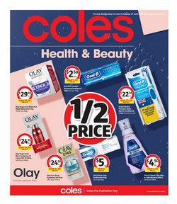 Coles specials in the Coles catalogue ( 4 days left)