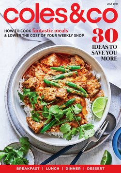 Supermarkets specials in the Coles catalogue ( 5 days left)