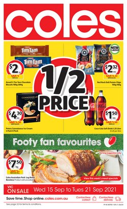 Coles specials in the Coles catalogue ( 2 days left)