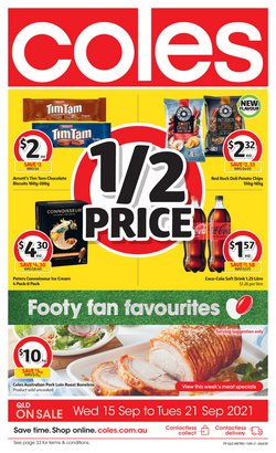 Supermarkets specials in the Coles catalogue ( 2 days left)