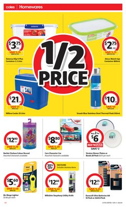 Bic specials in the Coles catalogue ( Expires today)