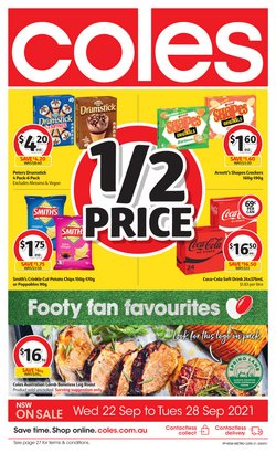 Supermarkets specials in the Coles catalogue ( 1 day ago)