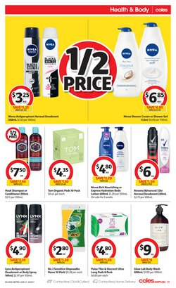 Bic specials in the Coles catalogue ( Published today)
