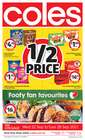 Coles catalogue ( Published today )