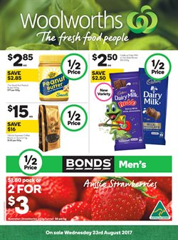 Grocery offers in the Woolworths catalogue in Melbourne VIC