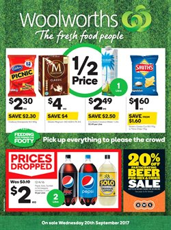 Offers from Woolworths in the Rockingham WA catalogue