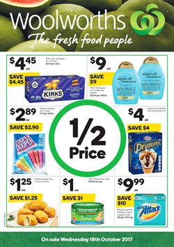 Grocery offers in the Woolworths catalogue in Newcastle NSW