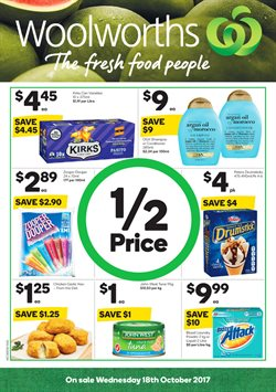 Grocery offers in the Woolworths catalogue in Rockingham WA