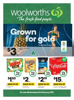 Grocery offers in the Woolworths catalogue in Kingaroy QLD