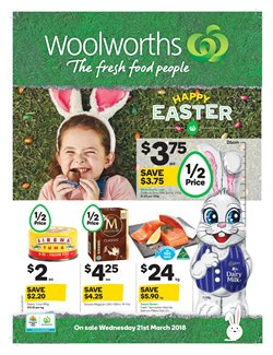 Grocery offers in the Woolworths catalogue in Sydney NSW