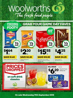 Offers from Woolworths in the Canberra ACT catalogue