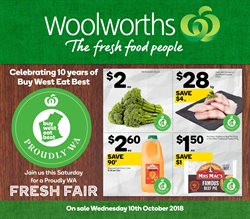 Offers from Woolworths in the Baldivis WA catalogue