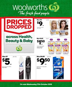 Offers from Woolworths in the Tannum Sands QLD catalogue