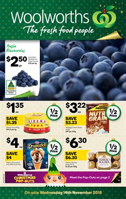 Offers from Woolworths in the Adelaide SA catalogue
