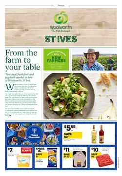 Offers from Woolworths in the Sydney NSW catalogue