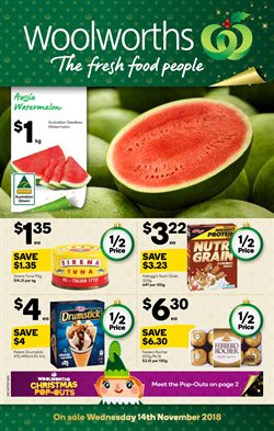 Offers from Woolworths in the Newman WA catalogue