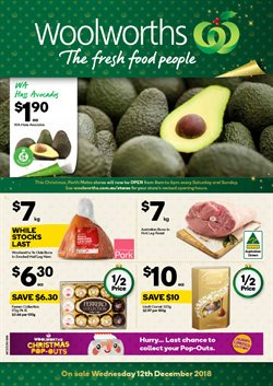 Grocery offers in the Woolworths catalogue in Baldivis WA