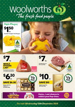 Grocery offers in the Woolworths catalogue in Bairnsdale VIC
