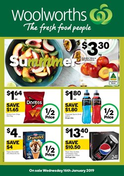 Offers from Woolworths in the Central Coast NSW catalogue