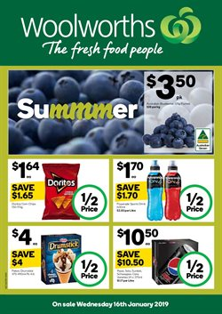 Offers from Woolworths in the Mandurah WA catalogue