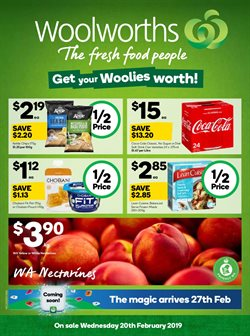 Supermarkets offers in the Woolworths catalogue in Baldivis WA