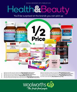 Supermarkets offers in the Woolworths catalogue in Bairnsdale VIC