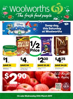 Offers from Woolworths in the Brisbane QLD catalogue