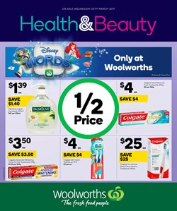 Offers from Woolworths in the Perth WA catalogue