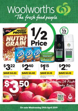 Offers from Woolworths in the Broken Hill NSW catalogue