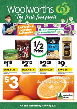 Supermarkets offers in the Woolworths catalogue in Salamander Bay NSW