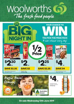 Offers from Woolworths in the Belconnen ACT catalogue