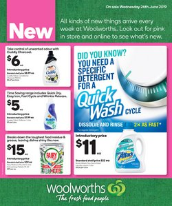 Offers from Woolworths in the Apple Tree Creek QLD catalogue