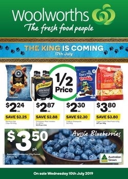 Supermarkets offers in the Woolworths catalogue in Newcastle NSW