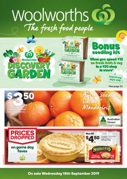 Offers from Woolworths in the Glen Eira VIC catalogue