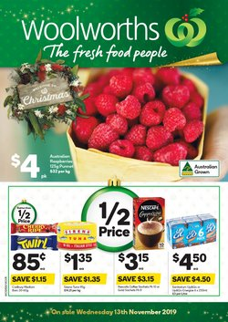 Supermarkets offers in the Woolworths catalogue in Warragul VIC