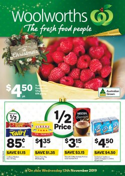 Supermarkets offers in the Woolworths catalogue in Burnie TAS