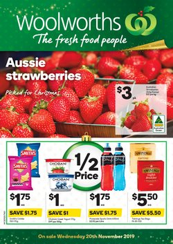 Supermarkets offers in the Woolworths catalogue in Devonport TAS